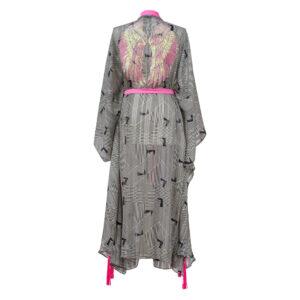 Kimono NAUTICAL PRINT WINGS LONG