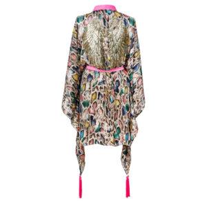 Kimono RAINBOW SNAKE GOLD WINGS